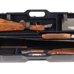 "Black 30"" Double Gun Case"